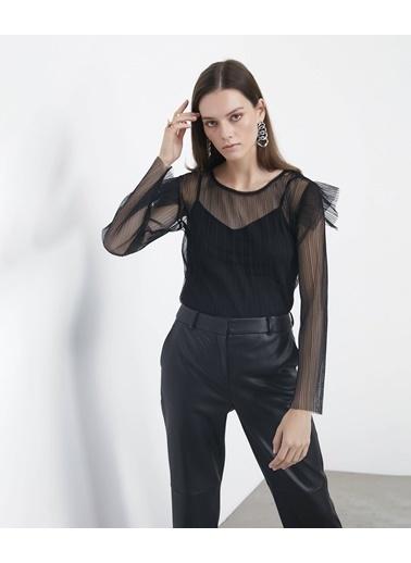 Ipekyol Bluz Siyah